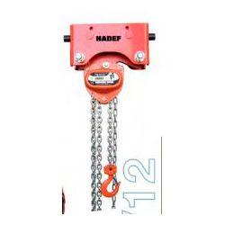 Palan manuel a chaîne Hadef 21/12 à partir de: