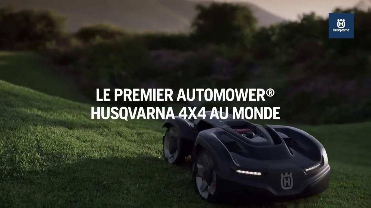 Automower® Husqvarna — Leader mondial de la tonte robotisée